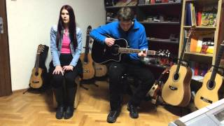 Video Strings & Croon (Adele - Make me feel my love acoustic guitar co