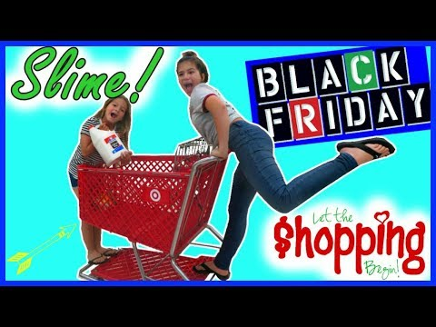 "SLIME SUPPLIES SHOPPING ""Black Friday"" #62"