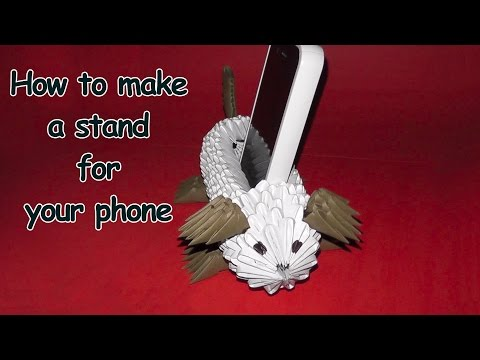 How to make a stand for your phone