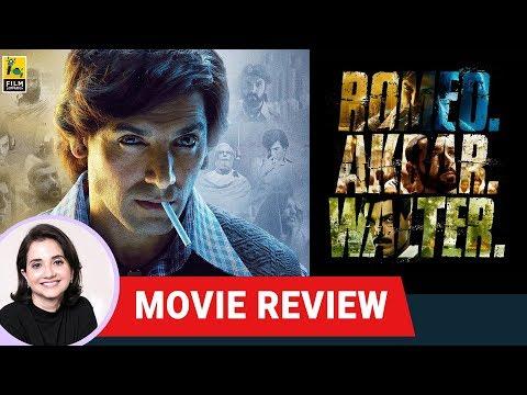 RAW - Romeo Akbar Walter Movie Review by Anupama Chopra | Robbie Grewal | John Abraham