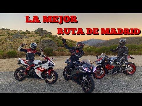 LA MEJOR RUTA EN MOTO DE MADRID