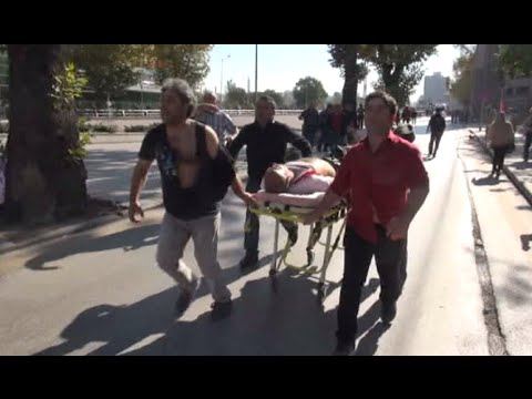 Turkey: Ankara peace rally At least 30 dead, 126
