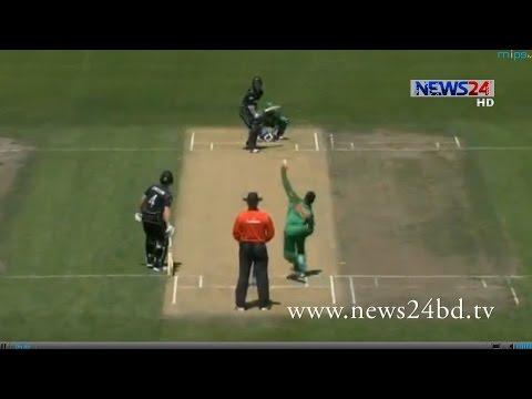 সিরিজের দ্বিতীয় ওয়ানডে নিউজিল্যান্ড জিতে নিলো ৬৭ রানে