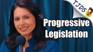 Tulsi Gabbard Reveals Amazing Progressive Legislative Agenda