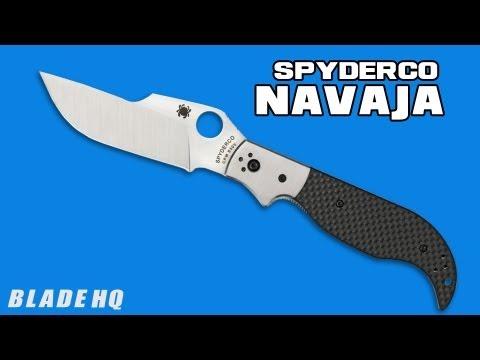 Navaja Knife Spyderco Navaja Knife w/
