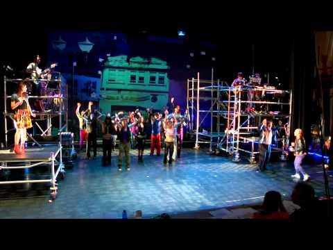 Ensaios de Galicia Caníbal, o musical. «De hoy no pasa»