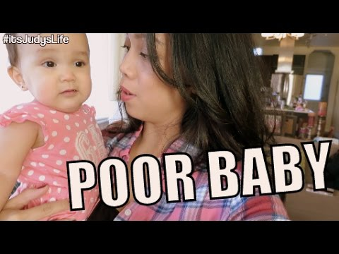Poor Baby :( January 07, 2015 ItsJudysLife Vlog