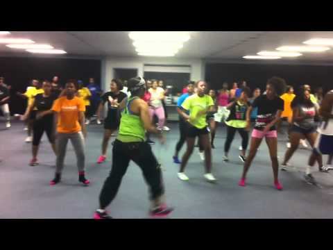 Palance - Zumba with April, Wednesday Night, 8:30pm CEC 5-30-2012.