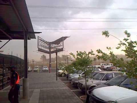 pretoria wind storm