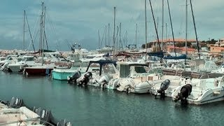 Sausset-Les-Pins France  city pictures gallery : Sausset-les-Pins - the marina coast, France, Provence [HD] (videoturysta)