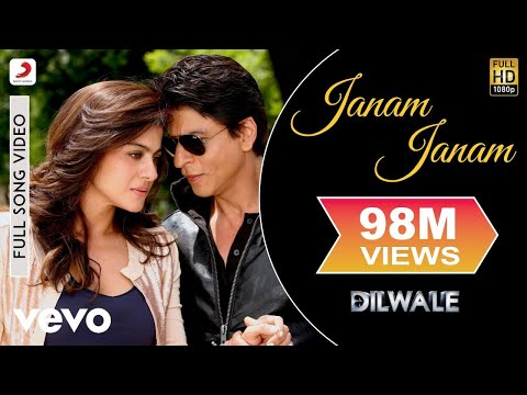 Janam Janam Full Video - Dilwale|Shah Rukh Khan|Kajol|Arijit Singh|Antara Mitra|Pritam
