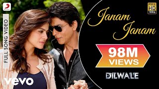Janam Janam   Dilwale | Shah Rukh Khan | Kajol | Pritam | Arijit | Full Song Video