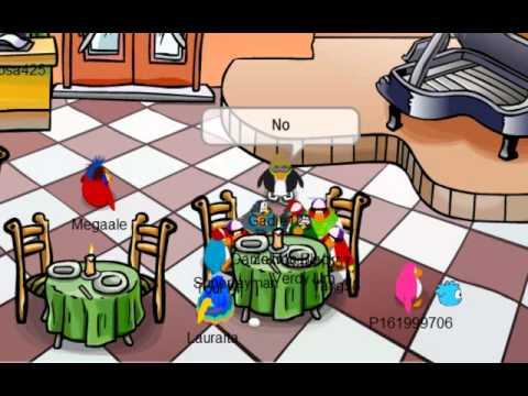 Club Penguin: Encuentro de Pinguinos Famosos