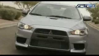 Mitsubishi Lancer Ralliart Test Drive 2010-2011