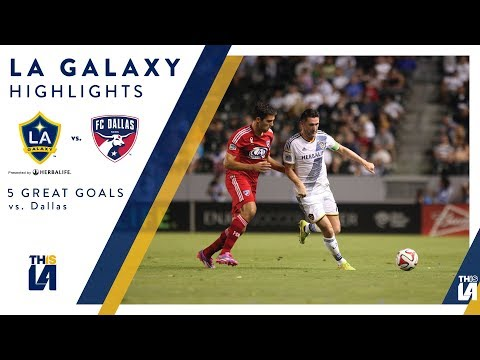 Video: Five Great Goals: LA Galaxy vs. FC Dallas