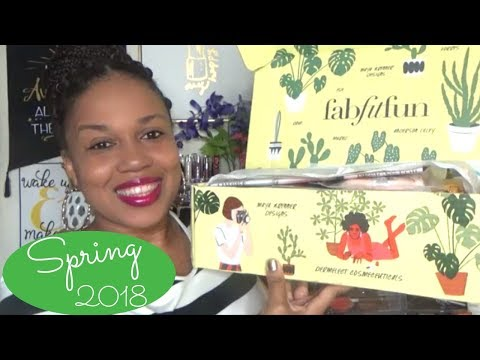 Nail salon - FABFITFUN SPRING BOX 2018/ GET $300 IN PRODUCTS FOR UNDER $40