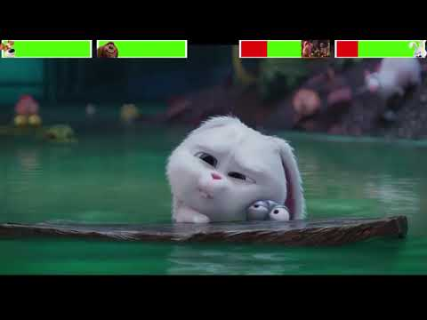 The Secret Life of Pets Sewer Chase with healthbars (Edited by @Gabe Dietrichson )