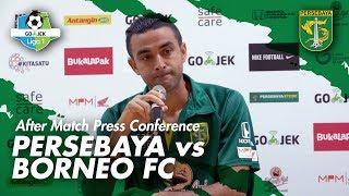 Video AMPC | Dutra: Saya Malu Sekali, Saya Minta Maaf, Harus Kerja Keras Lagi | Persebaya vs Borneo FC MP3, 3GP, MP4, WEBM, AVI, FLV Oktober 2018