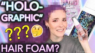 "Video Testing ""Holographic"" hair foam (the results will not shock you at all) MP3, 3GP, MP4, WEBM, AVI, FLV September 2018"