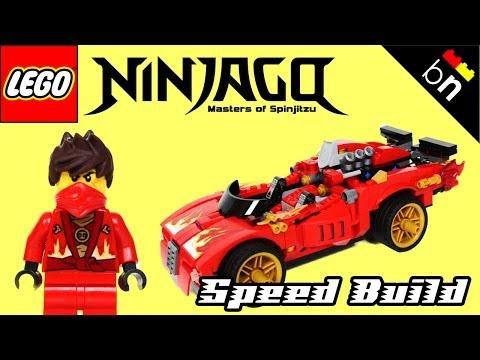 Vidéo LEGO Ninjago 70727 : Le Ninja X-1