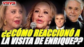 Silvia Pinal revela como se sintió con la visita de Enrique Guzmán.