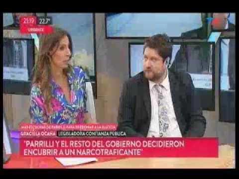"""Ocaña:""""Parrilli y el resto del Gobierno de CFK decidieron encubrir a un narcotraficante"""""""