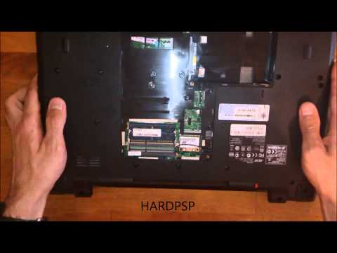 DISASSEMBLY ACER ASPIRE 7739G