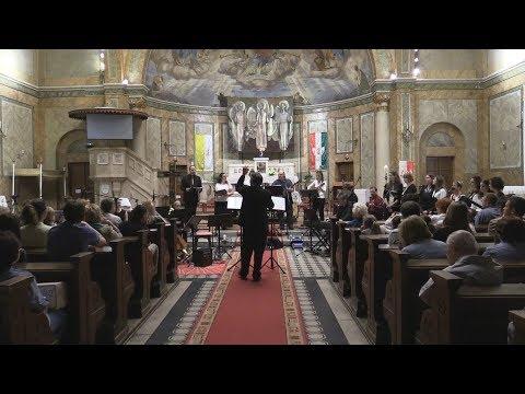 2018-07-02 Sillye Jenő - Kovács Gábor: Kristályóriás (Angyalföldi Szent Mihály-templom)