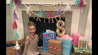 Brielle's 8th Birthday Special! Part 1    VLOGMAS