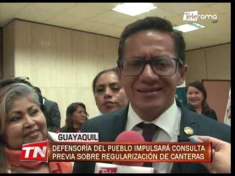 Defensoría del pueblo impulsará consulta previa sobre regularización de canteras