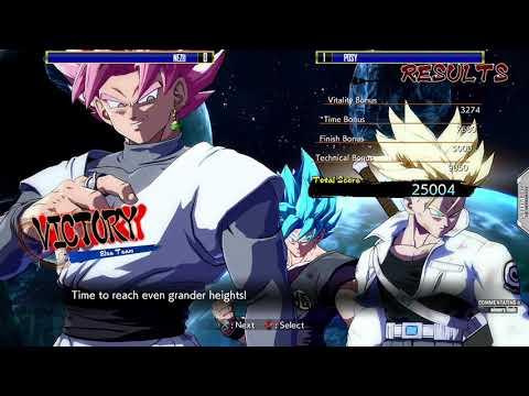 Posy vs Nezu  - GG Entertainment Online PS4 DBFZ #2