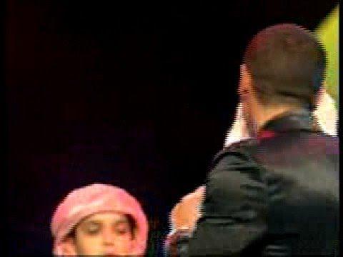 حماده هلال يكاد يبكي في مهرجان المحبة Al Mahabba Awards 2008