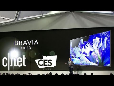 Sony at CES 2018: Aibo, Bravia TVs and other highlights (видео)