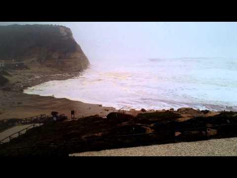 Tempestade na praia de São Julião 06.01.2014