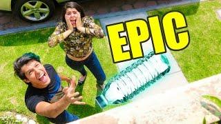 MEGA EPIC BOTTLE FLIP CHALLENGE | RETO POLINESIOS