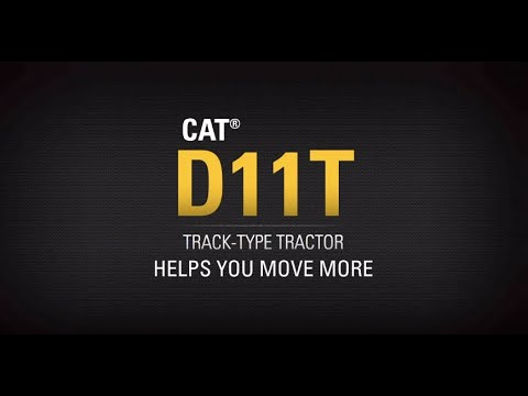 Cat® D11T Track-Type Tractor - Helps You Move More