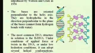 Mod-01 Lec-05 Nucleic Acid