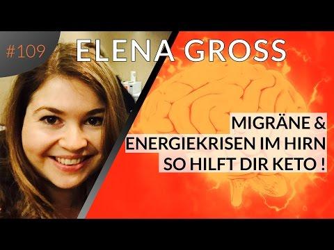 Migräne und Energiekrisen im Gehirn: So hilft dir Keto! Interview mit Elena Gross | Folge #109