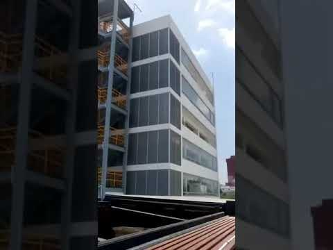 Sismo edificio FEMEXFUT 19/09/17 Roma Norte (видео)