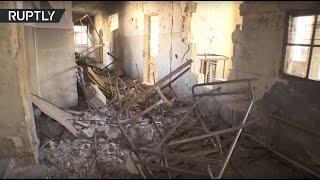 Российские сапёры ведут работы по разминированию школы в восточном Алеппо
