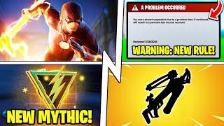 """WARNING: Epic Banning Players, New """"Flash"""" Mythic, Secret Update!"""