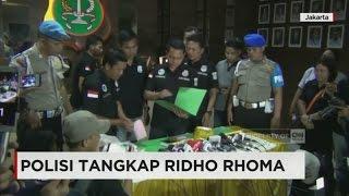 Ridho Rhoma Ditangkap terkait Narkoba, Barang Bukti Diperlihat...