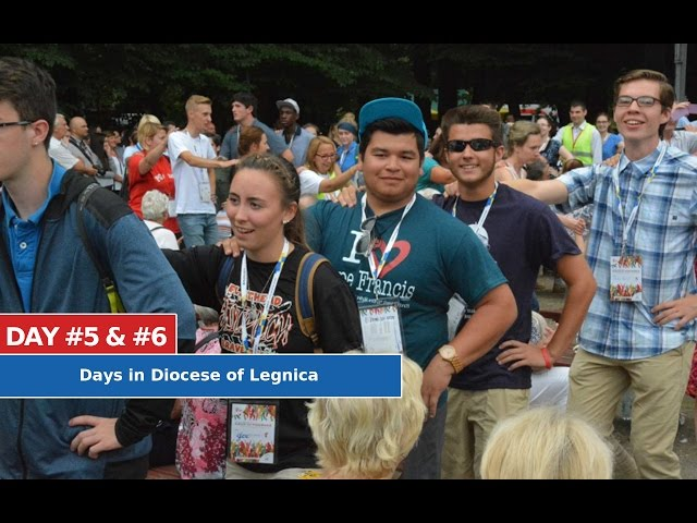 DAY #5 & #6 - Days in Diocese of Legnica [PL/ENG]