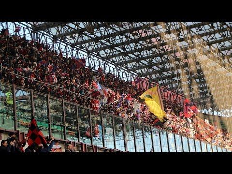 2000 ultras Bologna a San Siro