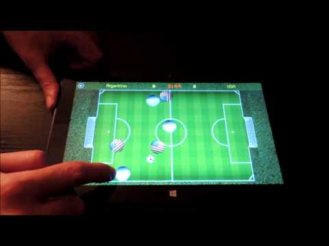 Video of Air Soccer Fever