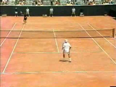 連網球王子都不會發的球!這種球根本無法反擊!