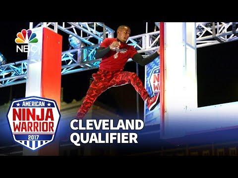 Najee Richardson at the Cleveland Qualifiers - American Ninja Warrior 2017