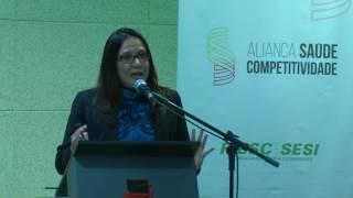 Assista à palestra proferida pela Drª Denise Eloi no Workshop Aliança Saúde Competitividade.