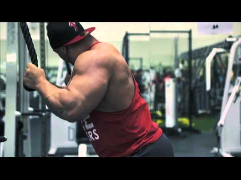 Fitness Training Routine to get BIG ARMS w/ Body Builder Tristen Esco HD VIDEO