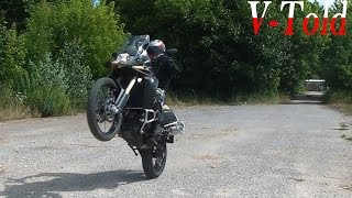 7. New BMW F800GS Adventure - riding & exhaust sound